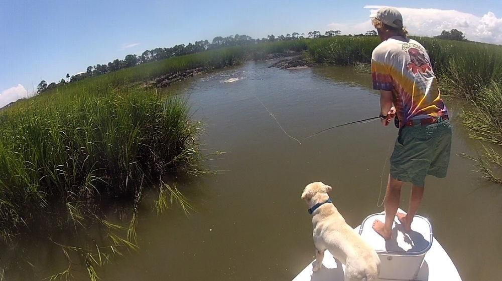 Featured guide charleston fly fishing expeditions for Fly fishing charleston sc